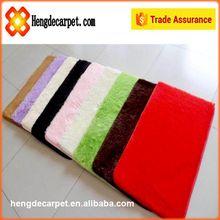 2015 Modern wholesale 100% nylon shaggy carpet price for home