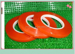 Brand new 3mm Red PET film double adhesive tape for mobile phone lcd touch screen glass