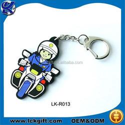 Rubber keyring, custom rubber keyring, rubber motorcycle keyrings
