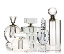 Wholesale fashion Cheap custom crystal empty bottle for perfume