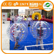 Top quanlity Hot sale Dia1.2m/1.5m/1.7m inflatable body balls, body bumper ball, inflatable sports ball