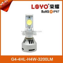 Adjustable H4 80W 3200lm Auto/Car Super Bright High Power LED Headlight