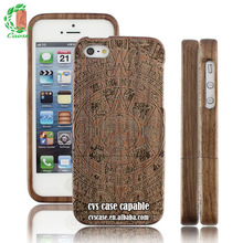 2015 Hot Selling Product ,Bamboo Case With Appealing Picture For Iphone5