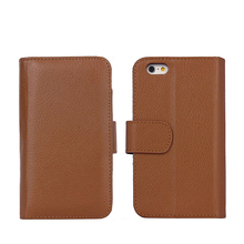 IP6235 Leather Phone Case For iPhone 6 / 6S , Multifunction Wallet Flip Case for iPhone 6 / 6S 4.7