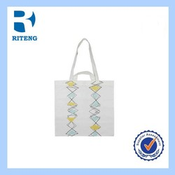 new beach nylon colorful pattern canvas tote bag