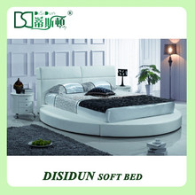 king size round bed frame and headboard DS-1015