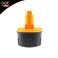 Wholesale dewalt power tools battery 18V with yellow color