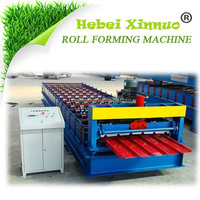 IBR roof sheet galvanized machine
