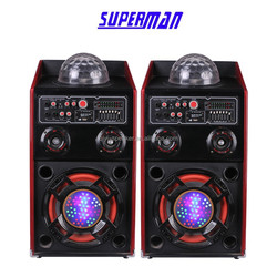 2.0 professional EQ Laser light speaker sound system power DJ stage speaker stero subwoofer