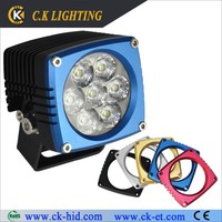 ip68 rate led driving lights 4x4 crane 4wd spot lights