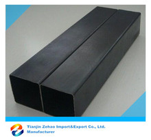 ASTM, DIN, GB, JIS Standard Square Black Hollow Section Steel Tube for Fence