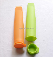 Oem Pass Fda Lfgb Certificate Food Grade Silicone Ice Pop Mould For Supermarket
