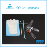 Disposable gynecology surgical instruments set