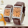 de moda set de regalo reloj para parejas