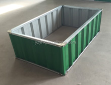 steel sheet low cost outdoor flower bed of easy install