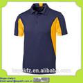 navy azul deporte nuevo tejido polo fresco diseño de la camiseta