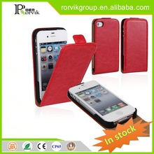 all kinds of pu leather cell phone case and covers for iPhone 4G