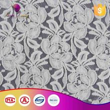Oem 100% Warranty African Lace Embroidery Fabric For Wedding Dress