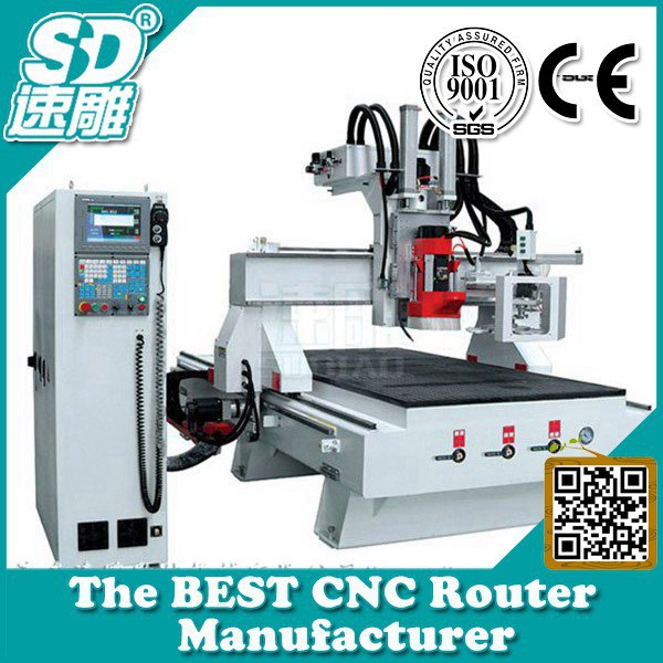 Best cnc Manufacturer! Circular ATC cnc woodworking machine-multifunction woodworking machine-atc cnc router machine