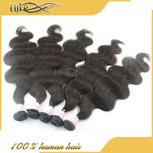 Natural Body Wave Virgin Indian Hair, Cheap Virgin 100 Indian Hair