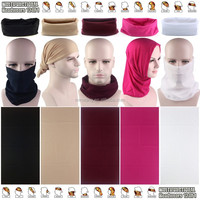 Wholesale Multi Fashion Styles Seamless Tubular Bandana Solid Multifunctional Headwear