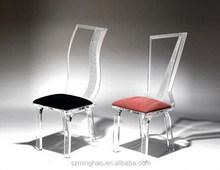 Luxury acrylic wedding chair, acrylic styling chair salon furniture