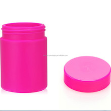 10 oz/300ml red UV Glossy plastic tube containers/plastic