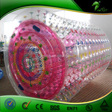 Popular color of inflatable water roller/water walking roller for sale