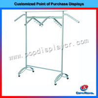 2015 new style fashion baby clothes metal rack