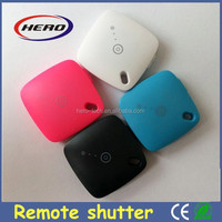 2015 hot sale phone accessory bluetooth remote shutter for iOs and Android