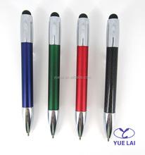 Lovely design metal carbon fiber mini touch pen for promotional
