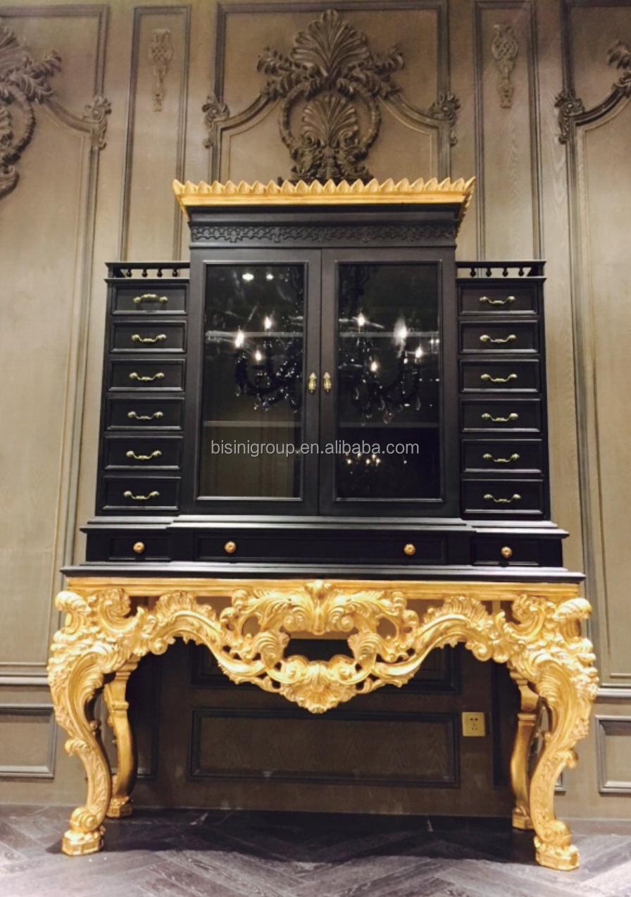 Antieke italiaanse keizer ontwerp gouden hand getuft bisini luxe ...