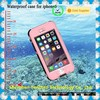 China Alibaba IP67 plastic silicon waterproof case for cell phone, fingerprint case for iPhone