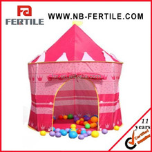 WFZ150002 Portable Outdoor Folding Princess Castle Waterproof Kids Children Game Toy Play Tent
