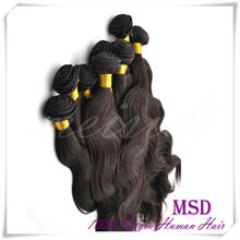 Superior quality hot beauty 100% human hair unprocessed virgin extension