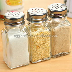 Wholesale colorful oil vinegar salt pepper glass cruet