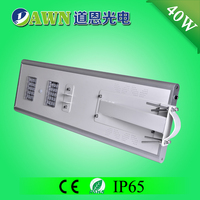40W excellent motion sensor LED integrated all in one solar street light costa rica