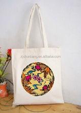 cotton bag/ printed cotton shoulder bag/ popular silk printed cotton bag