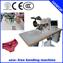 briefs cutting and glue tape high speed seamless bonding machine HF-801