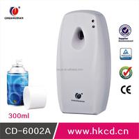 2015 New Design Bathroom Accessories Automatic Air Freshener Spray Dispenser Air Freshener Machine CD-6002A