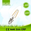 Factory price environmental friendly 120lm/w chip LED tungsten filament led bulb e14