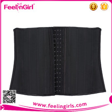 Hot selling 4 row clips cheap latex waist trainer corset