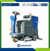 MN-V7 automatic floor scrubber,electric car cleaning machine,Gym floor cleaning sweeper truck