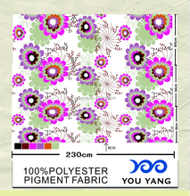 Pigment 100% Polyester Microfiber Brushed Fabric Wide Width for Bed Sheet Fabric