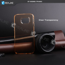 super soft and clear tpu for samsung galaxy s6 edge case,fashion design and variety colors for option