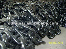 USD 900 black 1/2-2 3/8 inch painted with special bitumen warnish U2 OR u3 stud link anchor chain