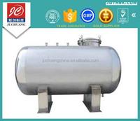 CG-3000L horizontal type stainless steel pharmaceutical storage tank