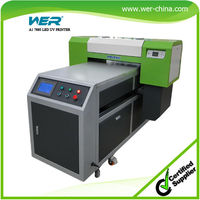 CE approved A1 size UV multifunctional flatbed printer