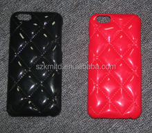 Glossy Quilting Patent leather case for Mobile phone/iPhone 6/6plus/6s