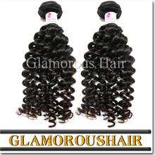 Virgin brazilian human hair weft curly brazilian hair brazilian loose curl